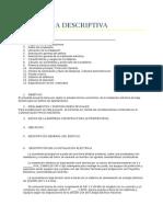 PPC_13. Ejemplo Memoria Descriptiva Electricidad