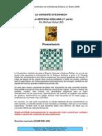 ajedrez - defensa siciliana - variante pelikan i - [78 págs]