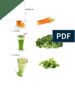 5 Contoh Sayuran Yang Dapat Dijadikan Jus