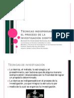 Técnicas indispensables en el proceso de la investigación (1)