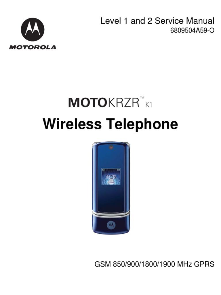 Motorola krzr k1 инструкция