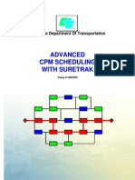 Advanced CPM Scheduling With SureTrak