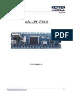 Ngx Mx-lpc1768-s User Manual