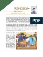 Una experiencia de innovación en Pomabamba Wilfredo Rimari