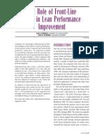 Robinson Schroeder Lean Performance