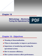 Lecture03 Monitoring and Tuning the Operational System Ch19