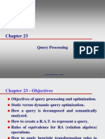 Lecture05 Query Processing Ch23
