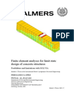 Finite Element Analyses for Limit State Design of Concrete Structures
