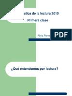 Didáctica de la Lengua y la Literatura (La lectura 2010).ppt