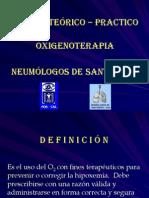 Gladys Oxigenoterapia