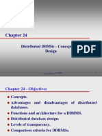 Lecture06 Distributed DBMSs - Concepts and Design Ch24