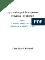 Tugas 1 (Kelompok) Manajemen Proyek & Perubahan