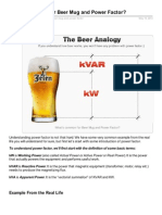 Electrical-Engineering-portal.com-Whats Common for Beer Mug and Power Factor