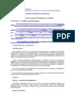 Reglamento Ley 27314 Residuos Sólidos