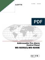 MS-9200 Manual