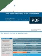 Finance & Accounting in Latin America