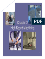 Chapter 2-High Speed Machining