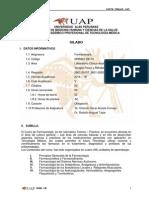 UAP_Sílabo Farmacología Tecnología Médica