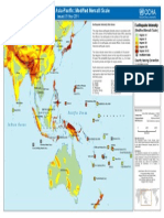 Earthquake data for Asia pacific region