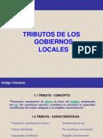 Tributos Gobiernos Locales