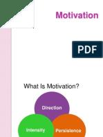 As Motivation
