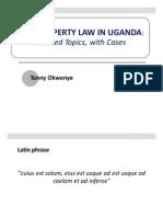 Real Property Law in Uganda-Libre (1)