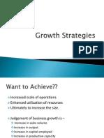 Growth Stratgies