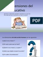 Las Dimensiones Del Acto Educativo- Raul Cruz Sanchez, Exponer