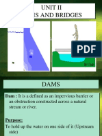 Unit II Dams, Bridges(1)