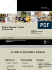 E. Martínez, Modelo Regional y Popularde Desarrollo