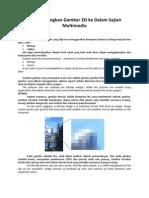 Menggabungkan Gambar 2d Ke Dalam Sajian Multimedia (1)