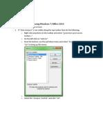 Analysis Tool Pack
