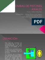 Bomba Axial