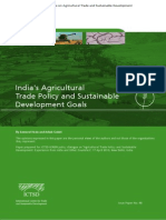 Indias Agricultural Trade Policy and Sustainable Development Goals 2