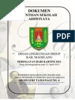 [Cover] Dokumen Rintisan Sekolah Adiwiyata
