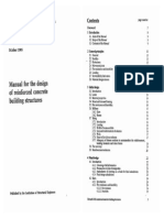 Manual for the Design of Reinforced Concrete Building Structure (Binding)