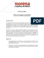 Convocatoria Jalisco 22 Al 27 de Marzo 2014