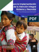 Guía para la implementación de la atención integral materna y neonatal calificada, con enfoque de género-2