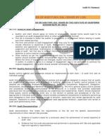 Auditing Standards Summary DK-Dheeraj Kukreja