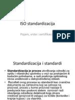 Iso Standardizacija