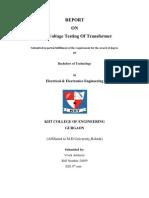 54411140 Hv Testing of Transformer