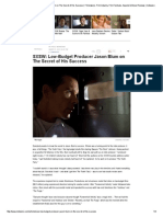 SXSW_ Low-Budget Producer Jason Blum on the Secret of His Success _ Filmmakers, Film Industry, Film Festivals, Awards & Movie Reviews _ Indiewire