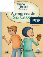 Livro SuCesso Cinco Dedos Doces Empreendedorismo