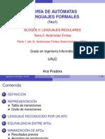 Tema2.1 - Autómatas Finitos Deterministas