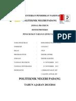 Pengukuran Tahanan Jenis Tanah - Mohammad Ngapan Hadi ( 3 Pln - 1101024017 )