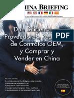 Due Diligence d Proveedores, Redaccion de Contratos OEM y Comprar y Vender en China
