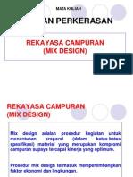 64. Mix Design