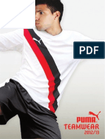 2012 2013 PUMA Teamwear Catalogue