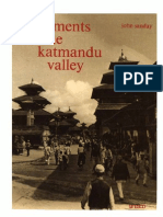 Monuments of the Katmandu Valley - John Sanday