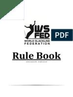 WS Fed - Slackline Rule Book (2013)